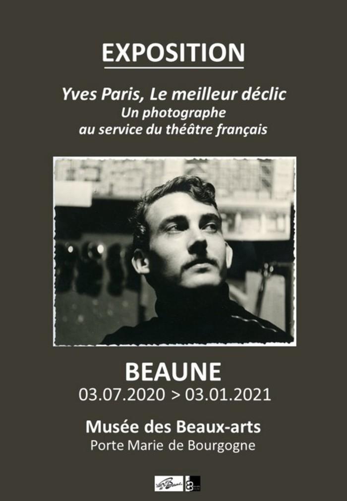 Journées du patrimoine 2020 - Exposition Yves Paris, Le meilleur déclic, Un photographe au service du théâtre français