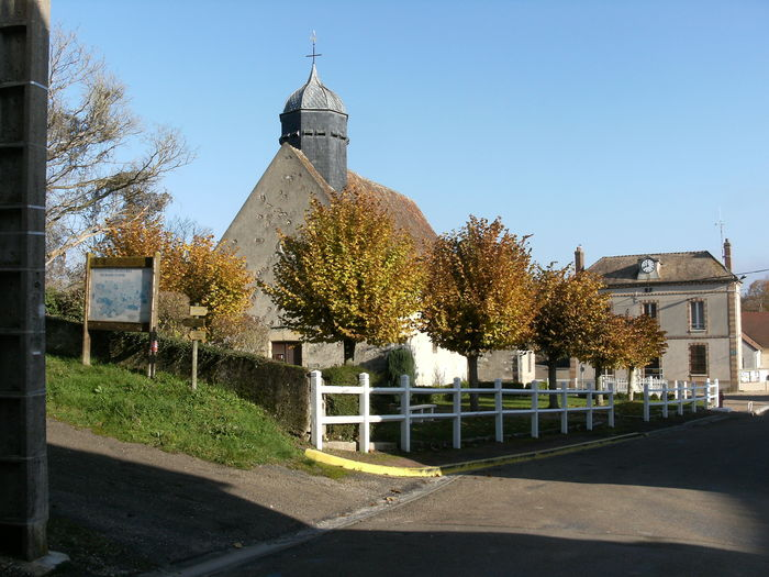 Journées du patrimoine 2020 - Au coeur du village se dresse l'église Saint-Hilaire et Saint-Eutrope