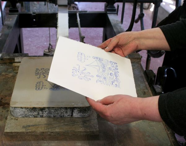 Nuit des musées 2019 -Atelier de lithographie, démonstrations et initiations