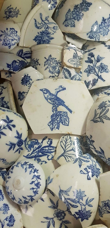 Journées du patrimoine 2019 - Exposition : « Des tessons par milliers ». L'archéologie s'empare des « bleus ».