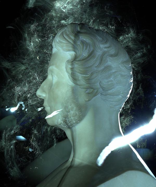 Nuit des musées 2019 -Lightpainting, calligraphie de lumière et musique.