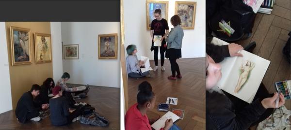 Nuit des musées 2019 -La classe, l'oeuvre! ! : Médiations sensorielles