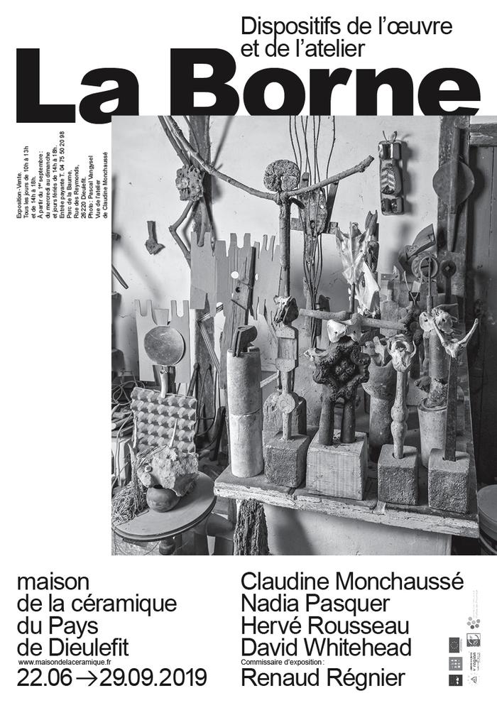 Journées du patrimoine 2019 - La Borne, dispositif de l'oeuvre et de l'atelier