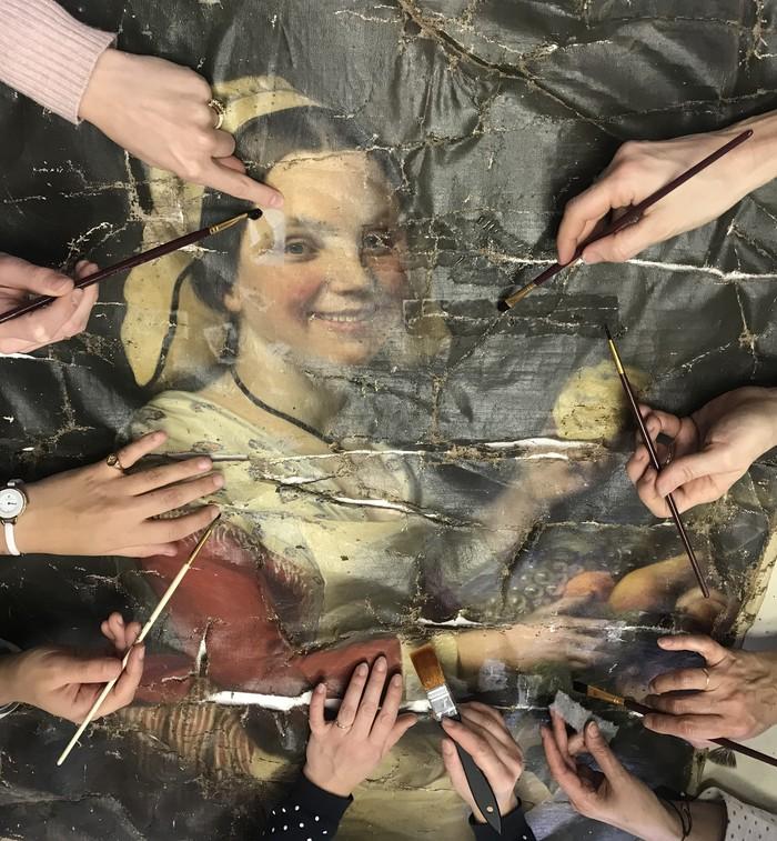 Journées du patrimoine 2020 - Formation Professionnelle de restaurateurs de tableaux - ATP-Formation