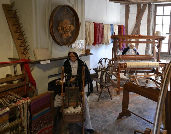 Journées du patrimoine 2020 - Filage de laine