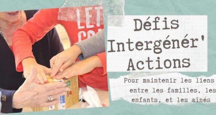 Rejoignez les Défis Intergénér'Actions