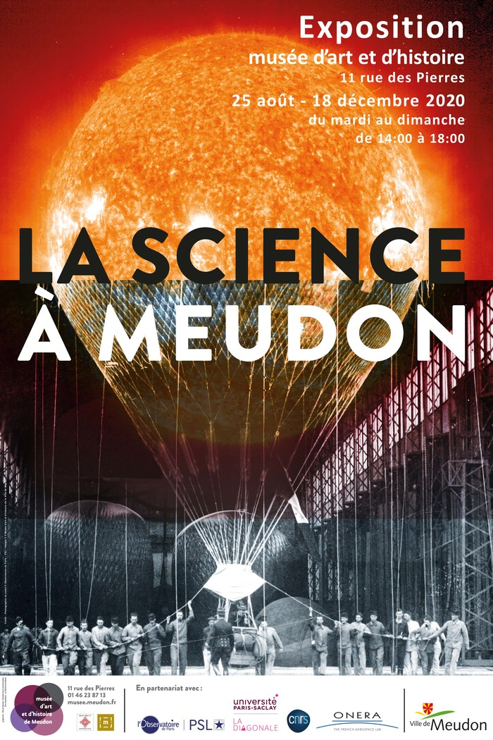 Avec un guide, découvrez la nouvelle exposition temporaire qui retrace l'histoire de l'Observatoire de Meudon, du Hangar Y ainsi que celle du CNRS et de l'ONERA.