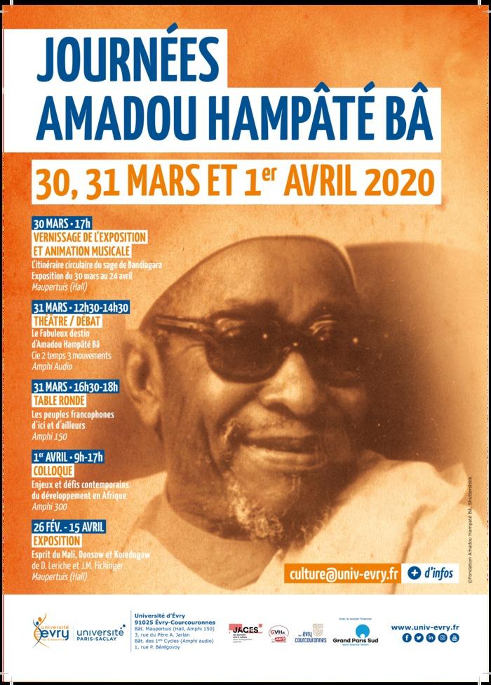 Journées Amadou Hampâté Bâ