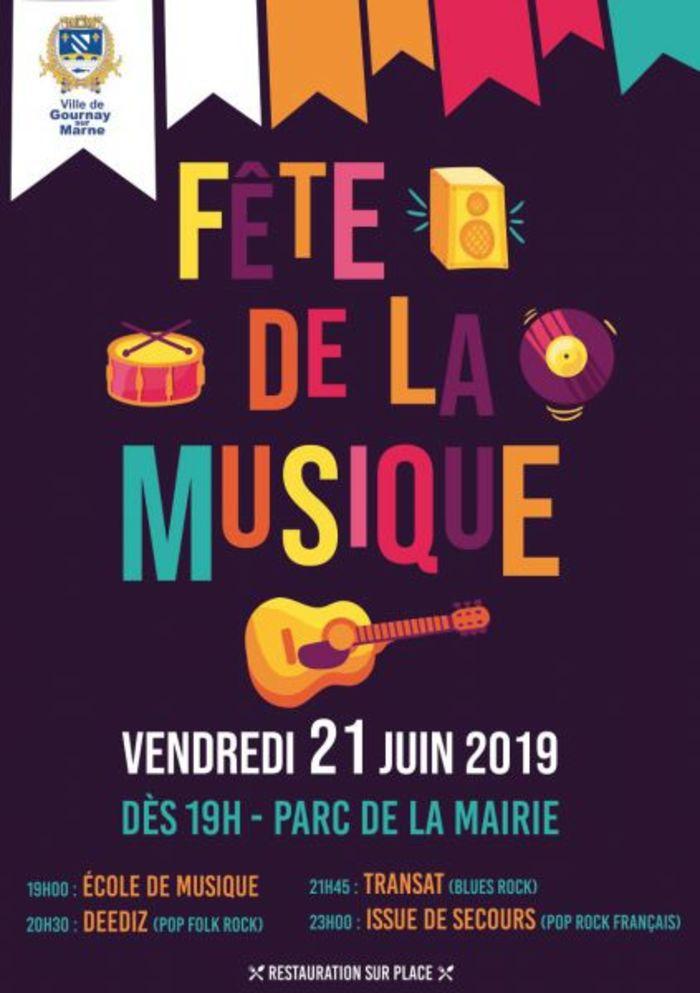 Fête de la musique 2019 - École de Musique / Deediz / Transat / Issue de secours