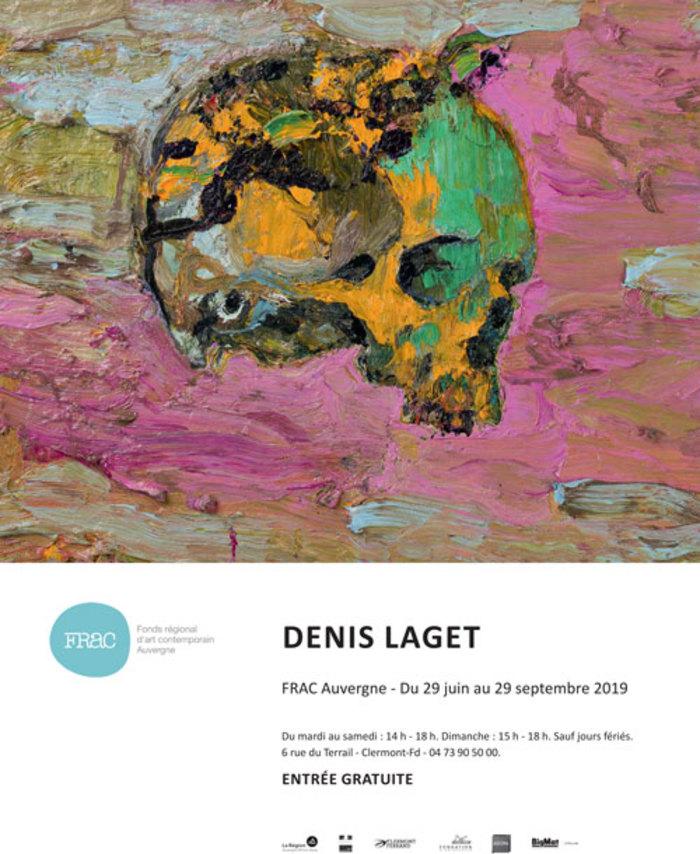 Journées du patrimoine 2019 - Visite guidée de l'exposition Denis Laget