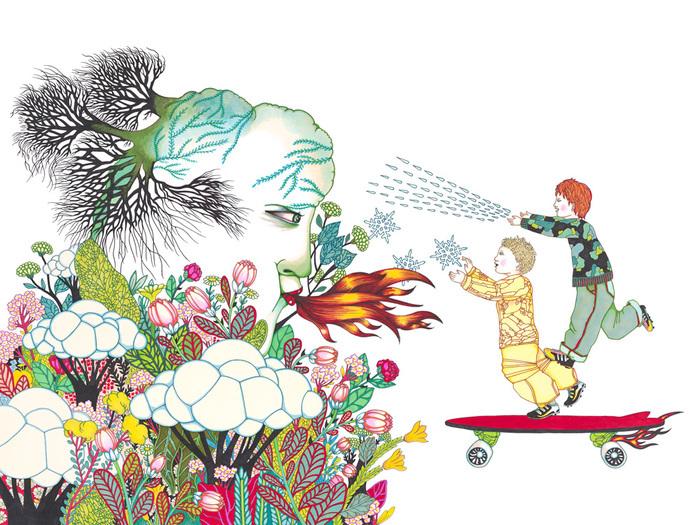 Atelier créatif avec Emmanuelle Houdart