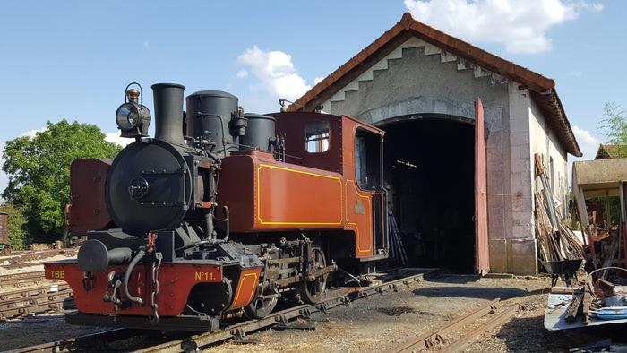 Journées du patrimoine 2019 - Visite du dépôt et de la collection de véhicules ferroviaires anciens préservés.