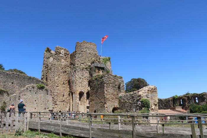 Journées du patrimoine 2020 - Visite du château de Talmont