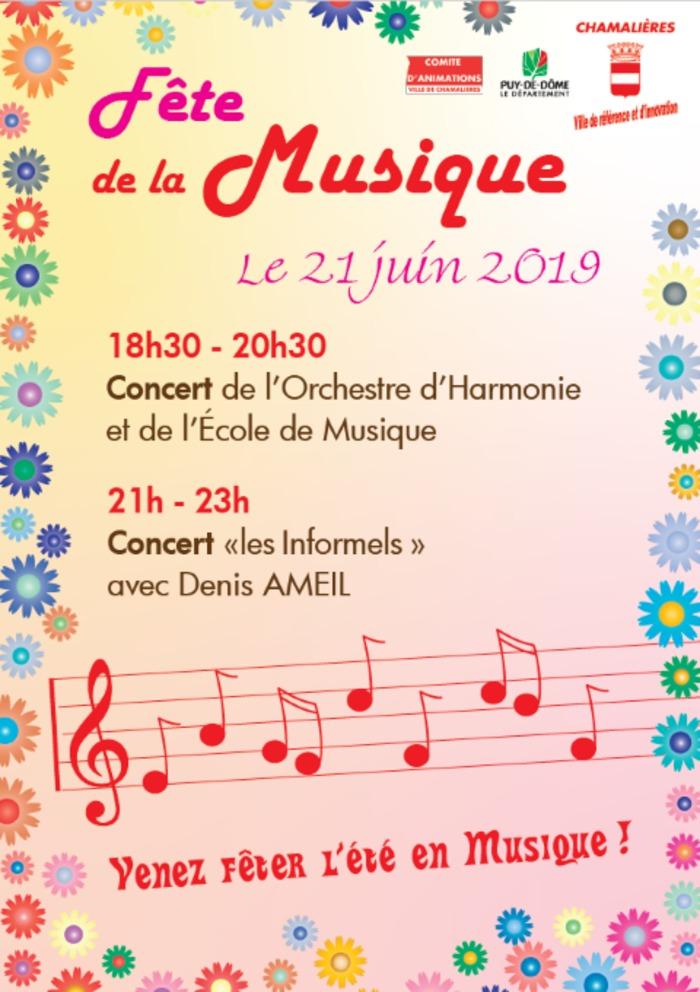 Fête de la musique 2019 - Orchestre d'Harmonie et école de musique + Les Informels