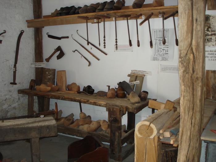 Journées du patrimoine 2020 - Visite libre de l'atelier du sabotier
