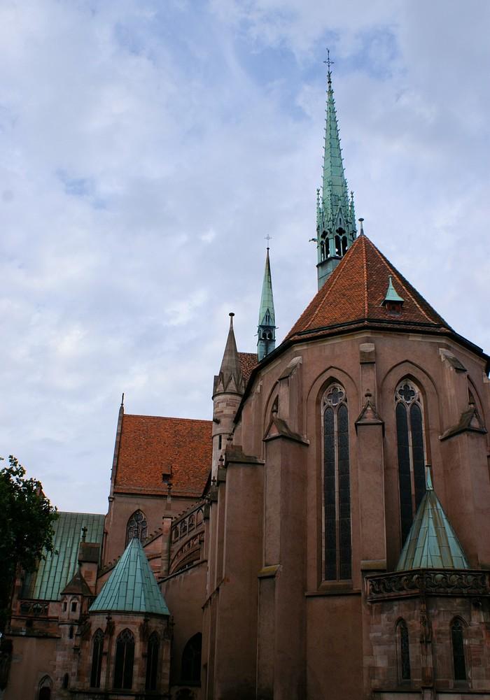 Journées du patrimoine 2020 - La construction de la nef aux 13e et 14e siècles de l'église Saint-Pierre-Le-Jeune