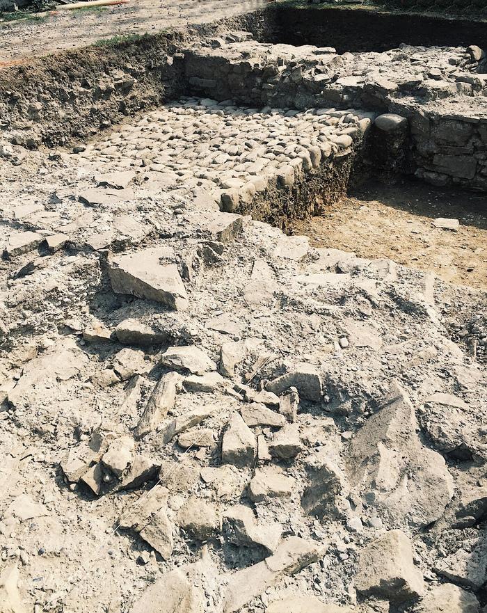 Journées du patrimoine 2019 - JEP 2019 : visite du chantier de fouilles archéologiques du château des Sires de Faucigny