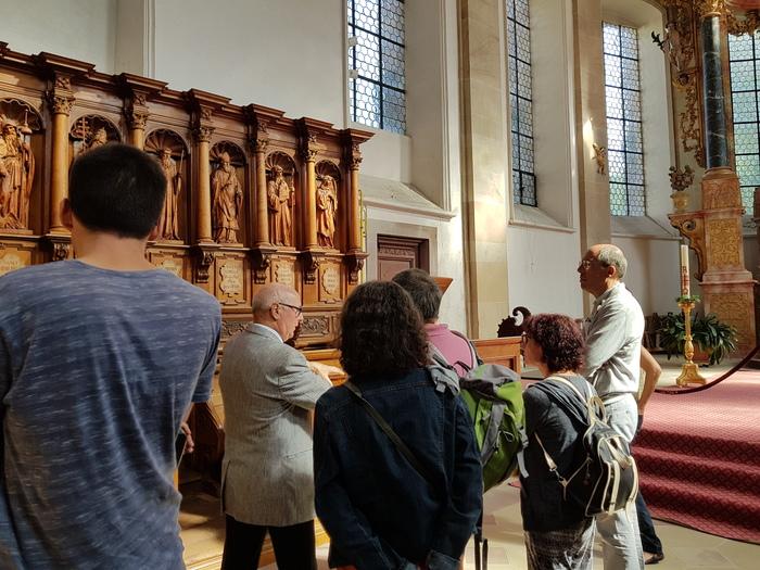 Journées du patrimoine 2019 - Visite guidée d'une Abbatiale baroque