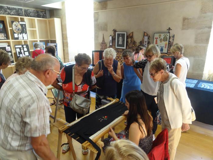 Journées du patrimoine 2019 - Démonstration de création d'accessoires, de broderies & exposition du travail des élèves du Lycée des métiers Jules Verne