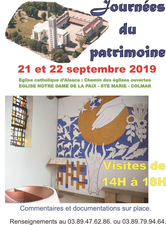 Journées du patrimoine 2019 - Visite guidée de l'église Sainte-Marie de Colmar