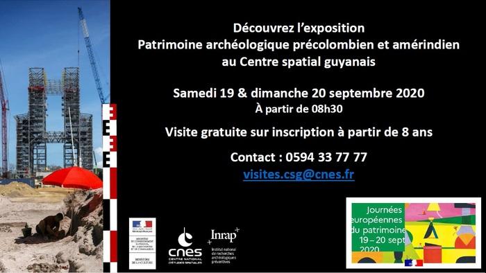 Journées du patrimoine 2020 - Exposition Patrimoine archéologique précolombien et amérindien au CSG
