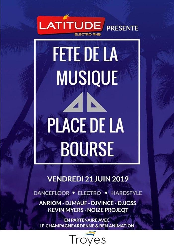 Fête de la musique 2019 - La Team DJ Latitude