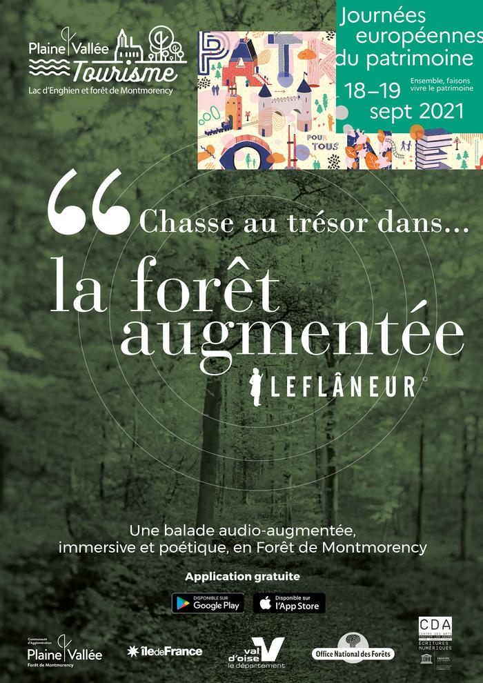 Ouvrez grand les yeux et les oreilles et partez pour une chasse au trésor à l'écoute de la forêt de Montmorency !