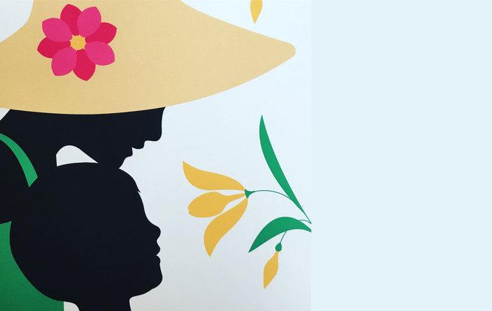 Atelier Fresque végétale avec l'illustratrice Emma Giuliani