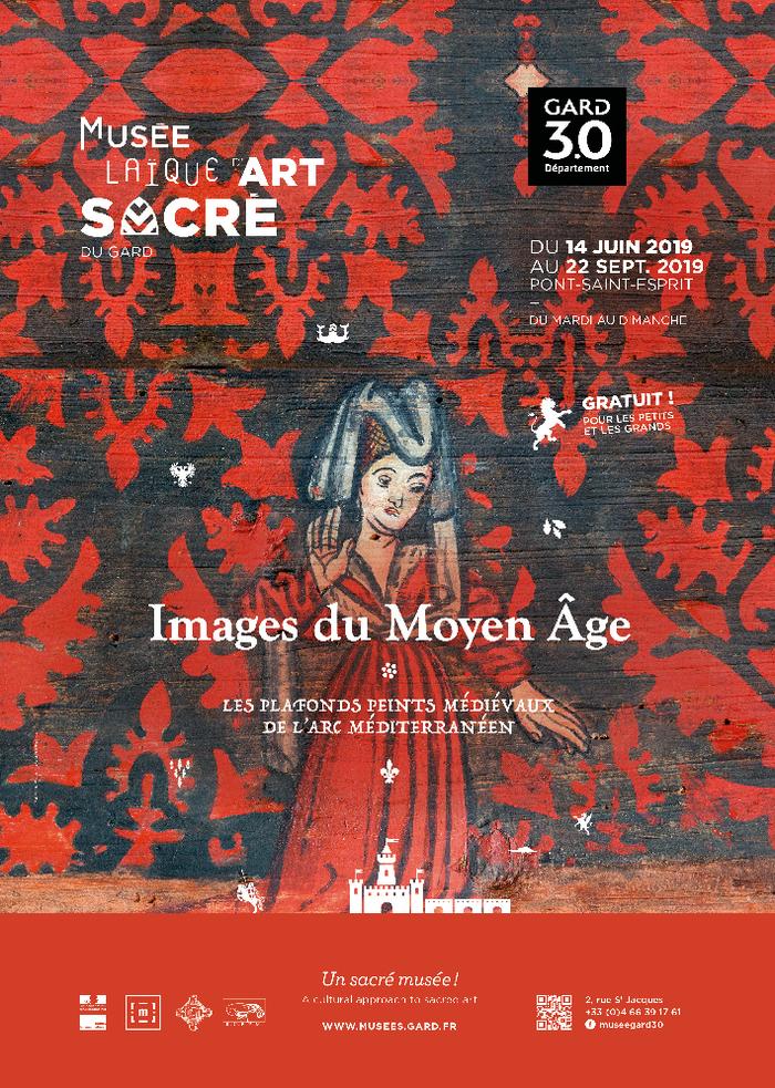 Journées du patrimoine 2019 - Images du Moyen Âge : les plafonds peints médiévaux de l'arc méditerranéen