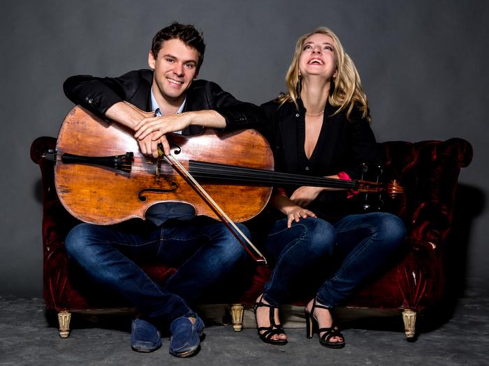 Christian-Pierre La Marca et Lise de la Salle