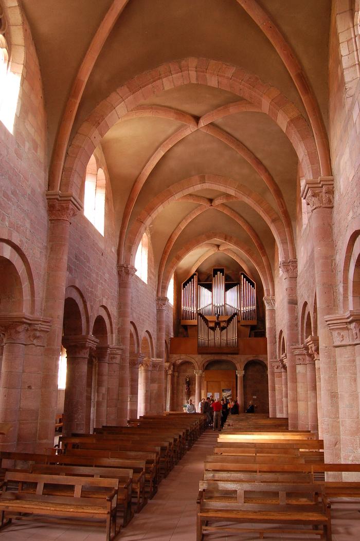 Journées du patrimoine 2019 - Conférence à l'abbaye Saint-Pierre d'Etival