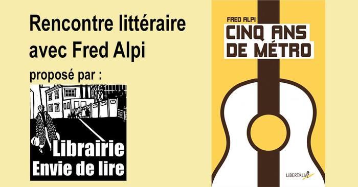 LA JIMI, c'est le salon des indés et de l'autoproduction. A cette occasion, Fred Alpi lira des extraits de son roman, accompagné de sa guitare.