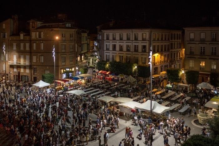 Venez à la rencontre des artisans et producteurs albigeois Place Sainte-Cécile.