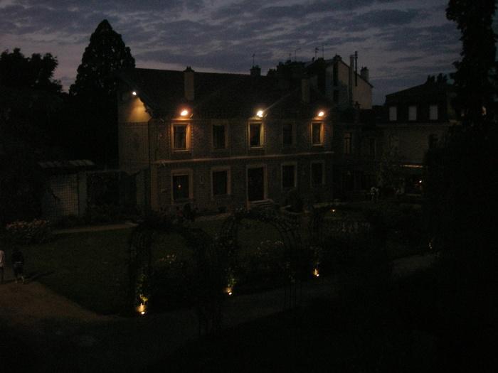 Nuit des musées 2019 -Visite du jardin du musée à la lampe torche