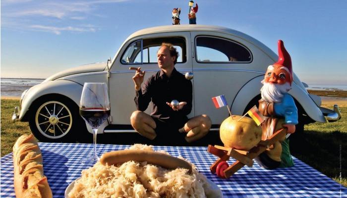 Journées du patrimoine 2020 - Annulé | Spectacle de rue « French Touch made in Germany » par l'artiste IMMO
