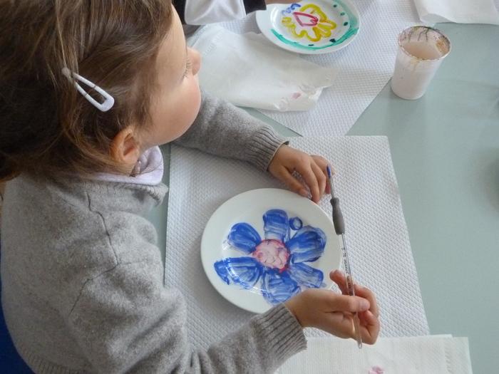 Journées du patrimoine 2020 - Visite-atelier, décoration d'un carreau de faïence