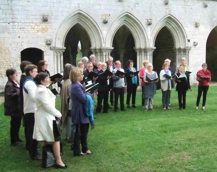 Journées du patrimoine 2020 - Visite guidée musicale de l'abbaye et de ses jardins monastiques