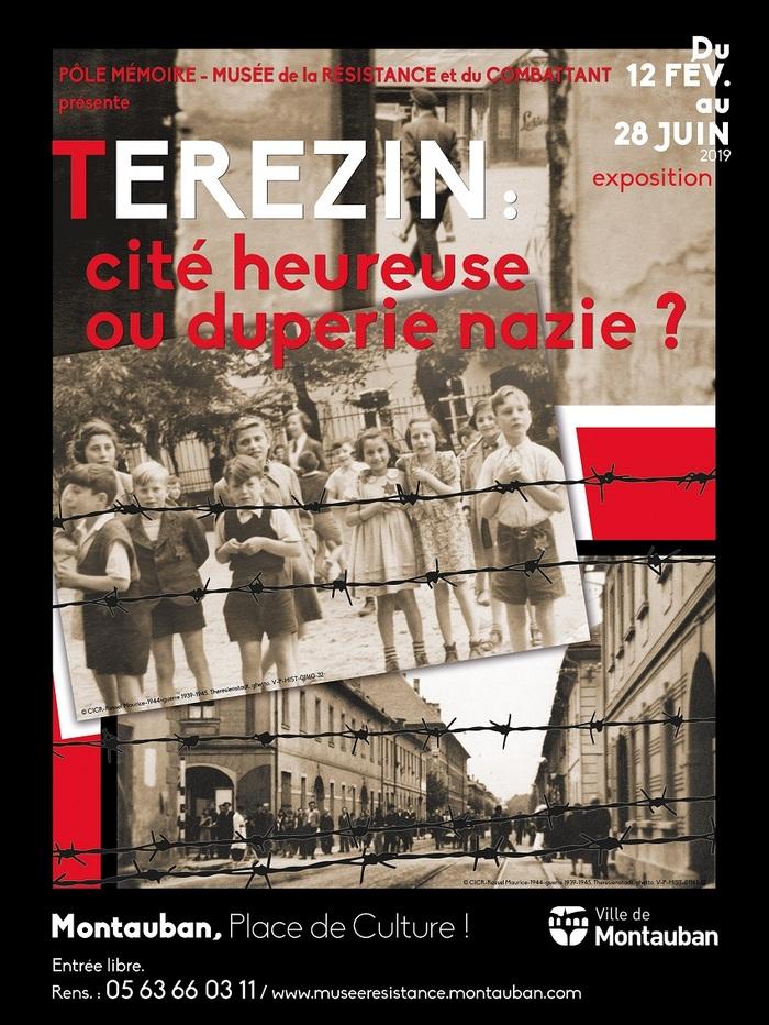 Nuit des musées 2019 -visite guidée de l'exposition :  Terezin, cité idéale ou duperie nazie ?
