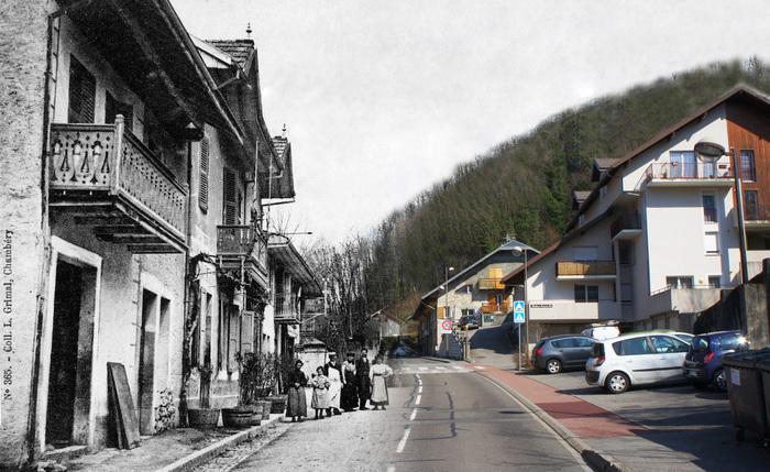 Journées du patrimoine 2020 - Exposition Photos: Gresy sur Aix d'hier et d'aujourd'hui