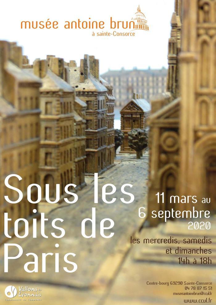 Journées du patrimoine 2020 - Exposition : Sous les toits de Paris