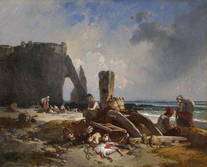 Journées du patrimoine 2020 - Exposition L'invention d'Etretat. Eugène Le Poittevin, un peintre et ses amis à l'aube de l'Impressionnisme