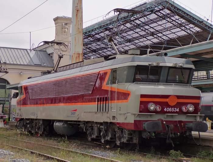 Journées du patrimoine 2019 - Présentation des locomotives CC6534 et CC6559