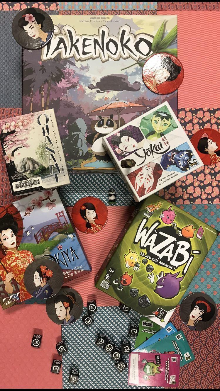Atelier jeux de société japonais pour les ados à la médiathèque