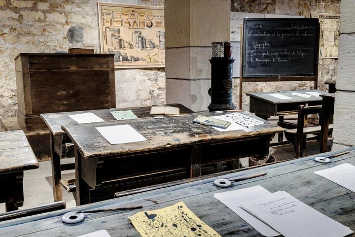Journées du patrimoine 2019 - Visite libre du musée et dictée dans la salle de classe d'autrefois