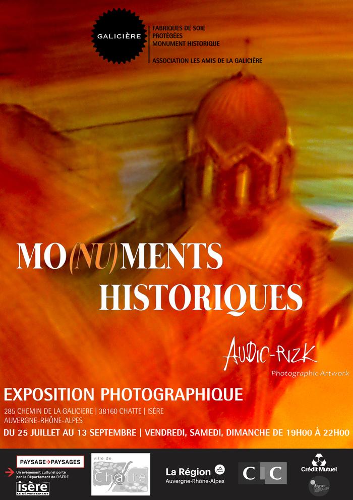 Journées du patrimoine 2020 - Exposition photographique Mo(nu)ments Historiques Audic & Rizk