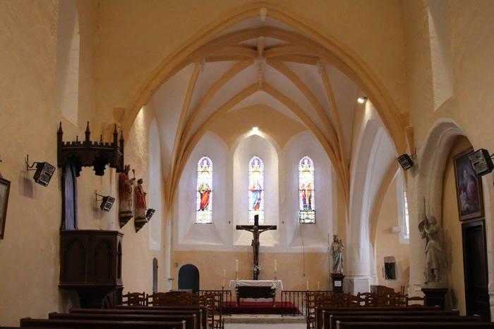 Journées du patrimoine 2019 - Visite libre de l'église Saint Mammès de Charmoy