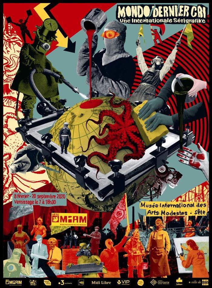 Journées du patrimoine 2020 - Visite guidée de l'exposition Mondo DC avec démonstration de sérigraphie