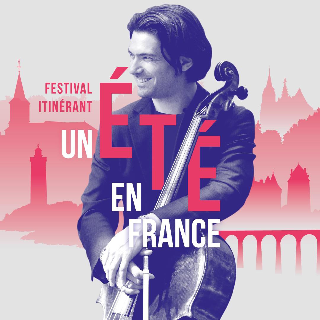 """Concert gratuit dans le cadre du festival itinérant """"Un été en France"""""""