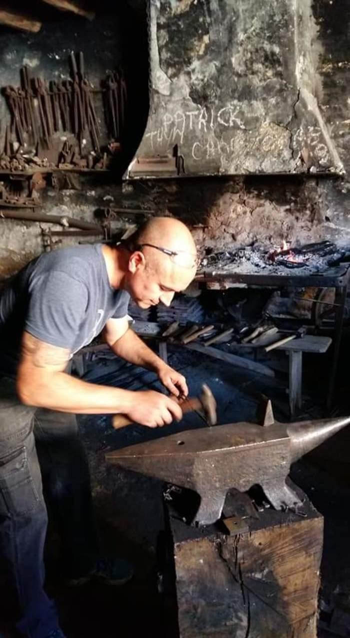 Journées du patrimoine 2019 - Réouverture et démonstration de la forge du village de Thenissey