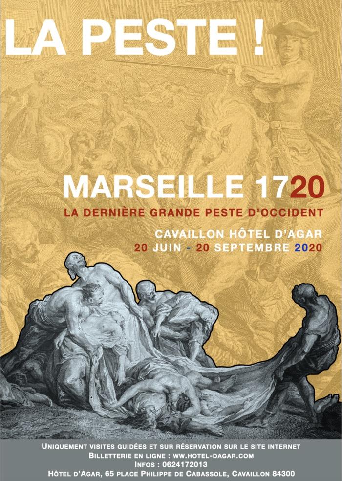 Journées du patrimoine 2020 - Visites guidées : La Peste de Marseille de 1720